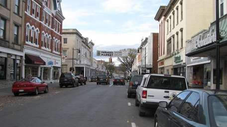Downtown Kingston, N.Y. When looking into retirement locales,