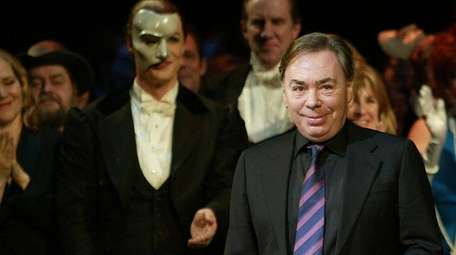 Andrew Lloyd Webber joins a curtain call for
