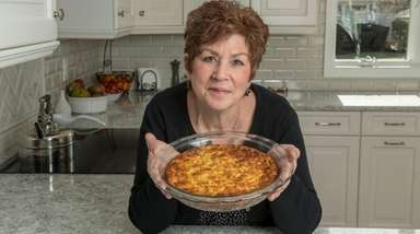 Patricia Yakacki Karlic says her zucchini pie can