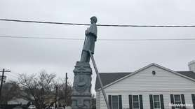 Patchogue to restore a Civil War monument that