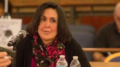 Hempstead Town Clerk Sylvia Cabana, seen on Jan.