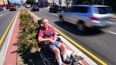 New Hyde Park Village Trustee Donald Barbieri served