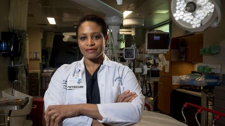 Dr. D'Andrea Joseph, chief of trauma and acute