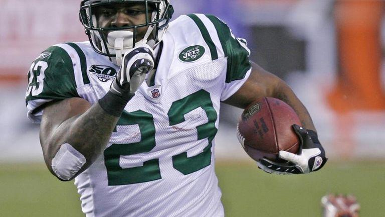 New York Jets running back Shonn Greene (23)