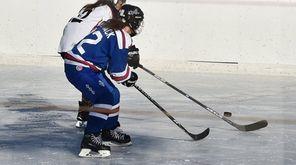 The Lipstix women's ice hockey team at The