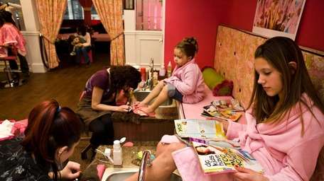 A Girl's Gotta Spa! in Patchogue. (January 2,