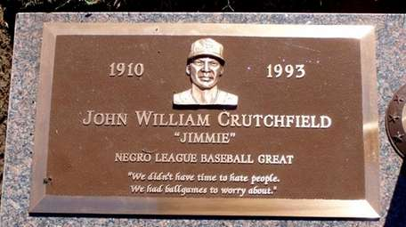 Gravestone of Negro League baseball player John William