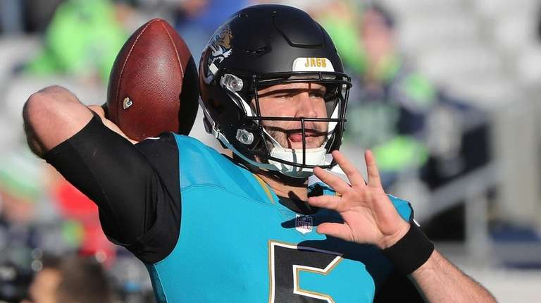 QB Bortles signs contract extension with Jaguars