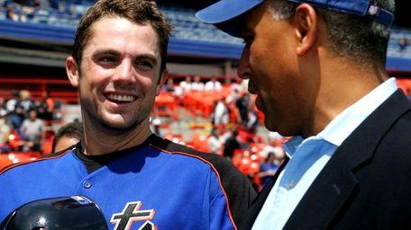 Mets' 3rd baseman David Wright (May 20, 2006)