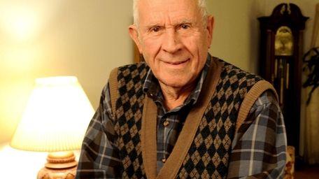WW II Navy veteran Vincent Busciolano, 87, has
