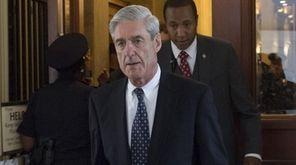 Former FBI Director Robert Mueller, special counsel on