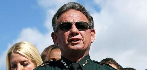 Broward County Sheriff Scott Israel speaks to the