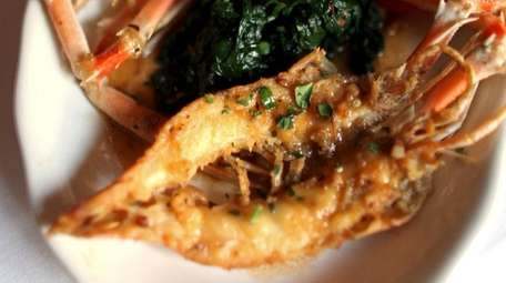 Jumbo Shrimp antipasto at Il Mulino in Roslyn
