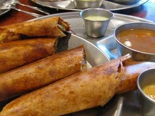 Dosas at House of Dosas in Hicksville