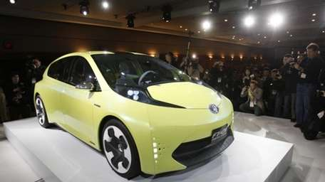 Toyota FT-CH compact hybrid concept. The New York