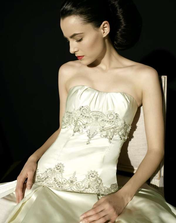 Kenneth Pool Europa gown will be featured at