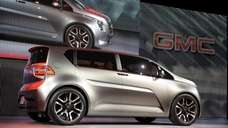 The GMC Granite concept car is shown during