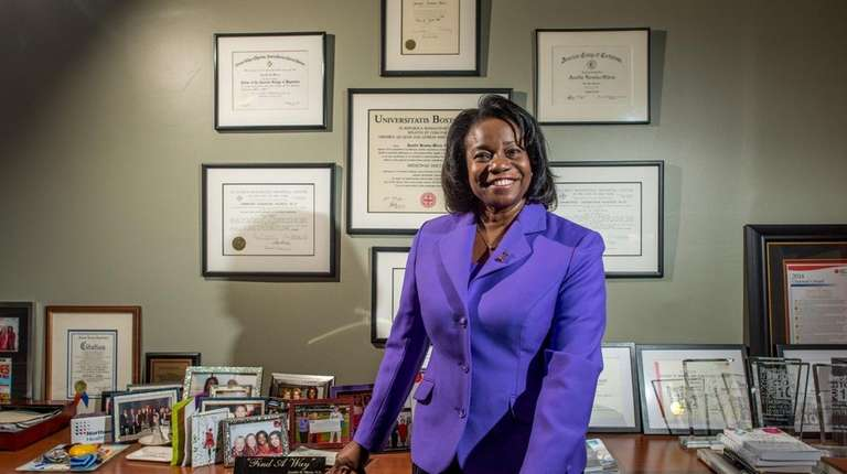 Dr. Jennifer Mieres, a senior vice president at