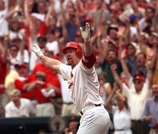 MARK MCGWIRE 50 Home run seaons: 1998, 70