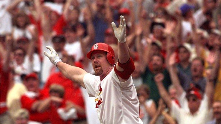 MARK MCGWIRE 50 Home run seaons: 1998, 70