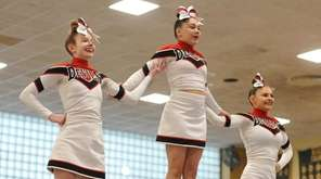 Freeport performs during the Nassau cheerleading championships at