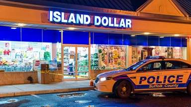Police said a man held up the Island