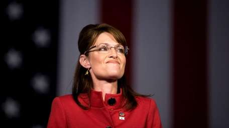 Then-Republican U.S. vice-presidential candidate Gov. Sarah Palin of
