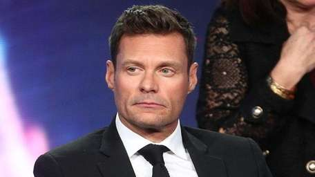 Ryan Seacrest takes part in an