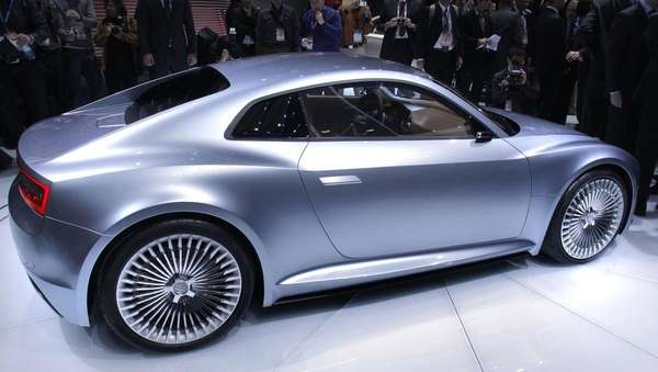 The Audi e-tron.