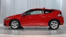 The new Honda CR-Z is displayed during the