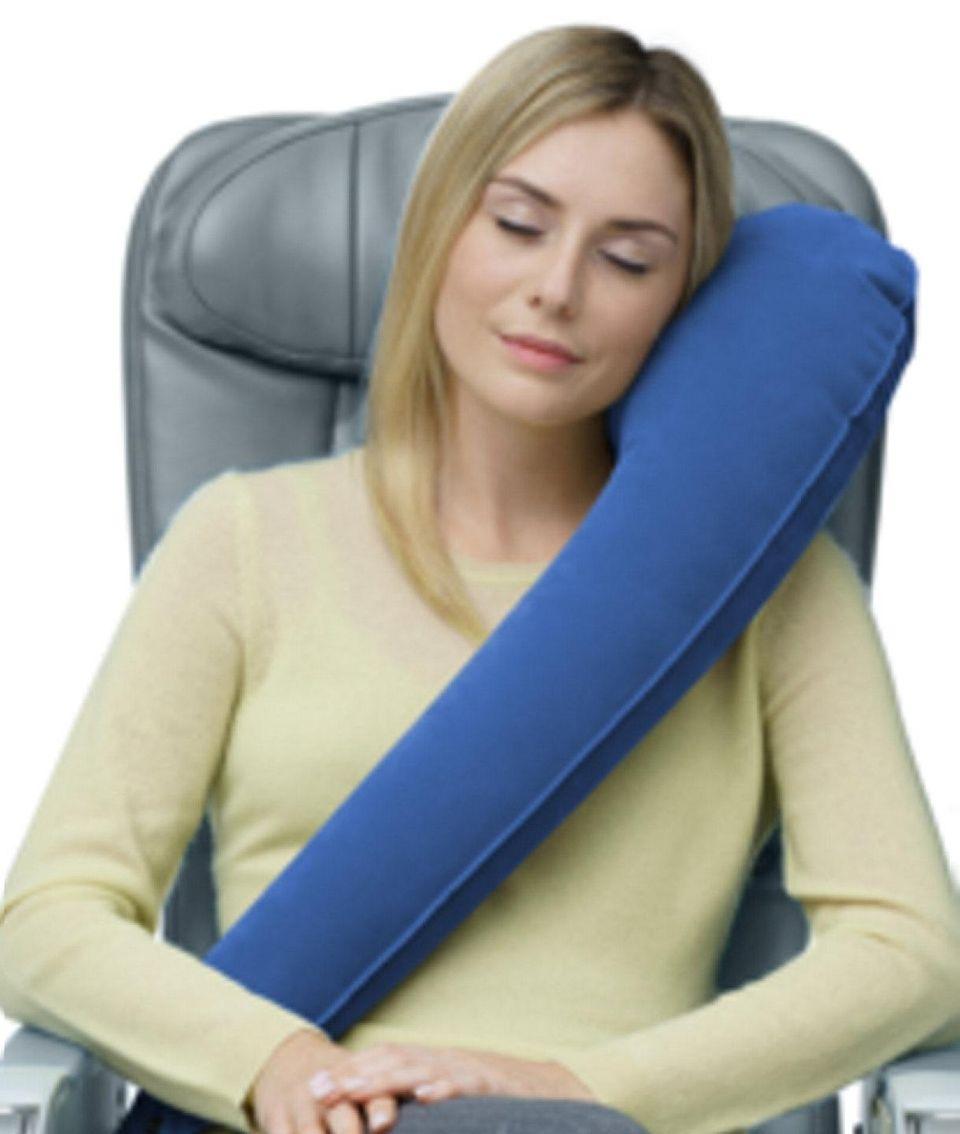 NAME Travelrest Travel Pillow COST $29.95 from travelrest.net