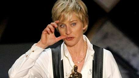 Ellen DeGeneres during the 79th Annual Academy Awards