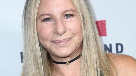 Barbra Streisand, seen on Sept. 12, 2017, said