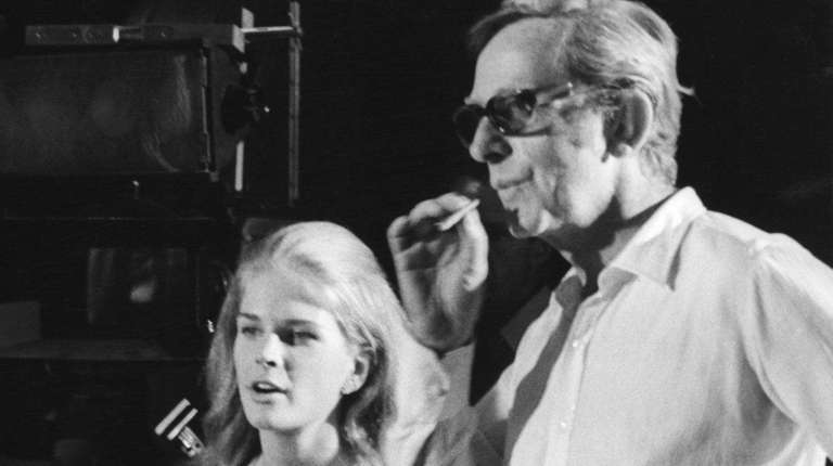 Actress Candice Bergen and director Lewis Gilbert on