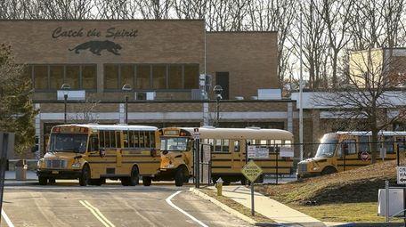 Miller Place High School seen on Tuesday, Feb.