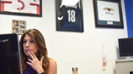 Tina Cervasio in her office at Fox5 News