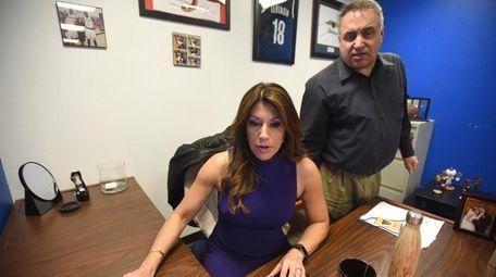 Tina Cervasio and host of