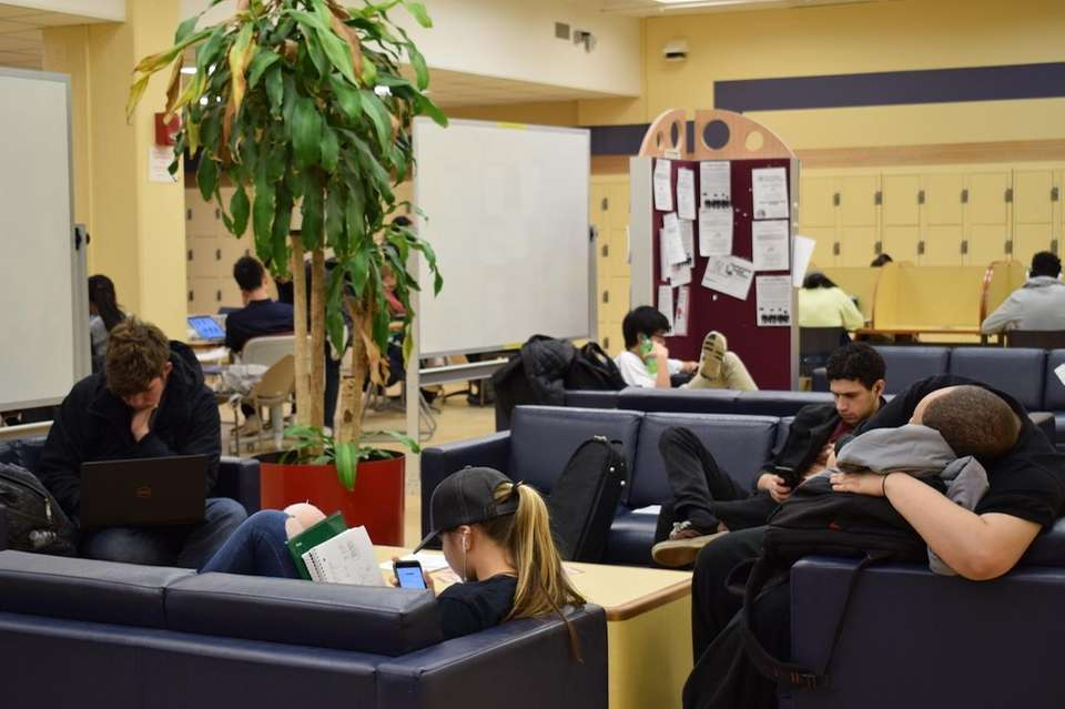 Open 24/7, students can go to sleep or