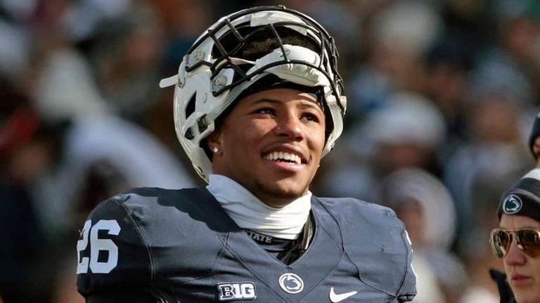 Penn State RB Barkley lights up NFL Scouting Combine