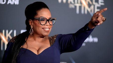 Oprah Winfrey at the premiere of