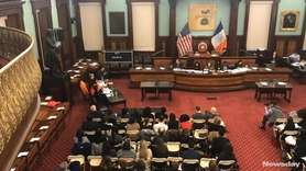 Councilwoman Laurie Cumbo (D-Brooklyn) discussed legislation intended to curb
