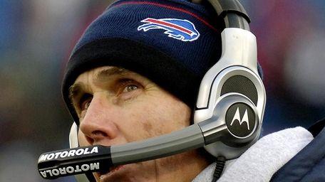 Former-Bills coach Dick Jauron. (December 28, 2008)