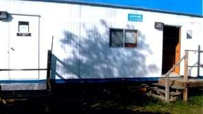 One of the sex-offender trailers owned by Suffolk