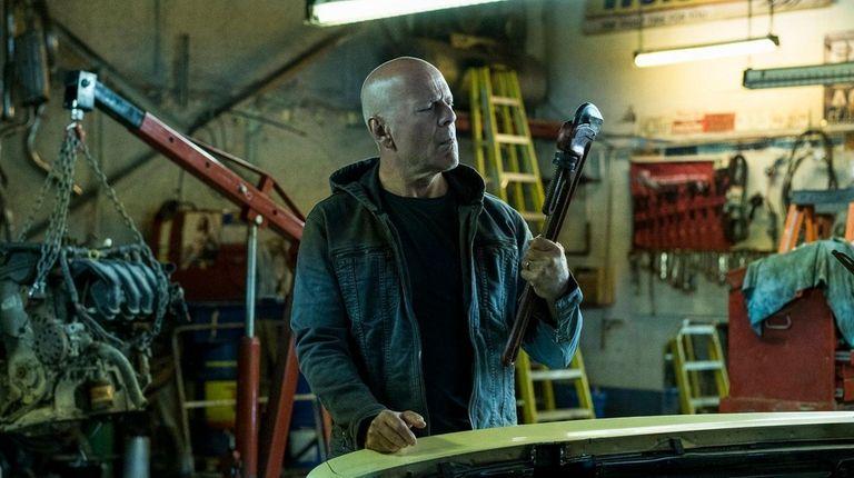 Bruce Willis plays a man seeking to avenge