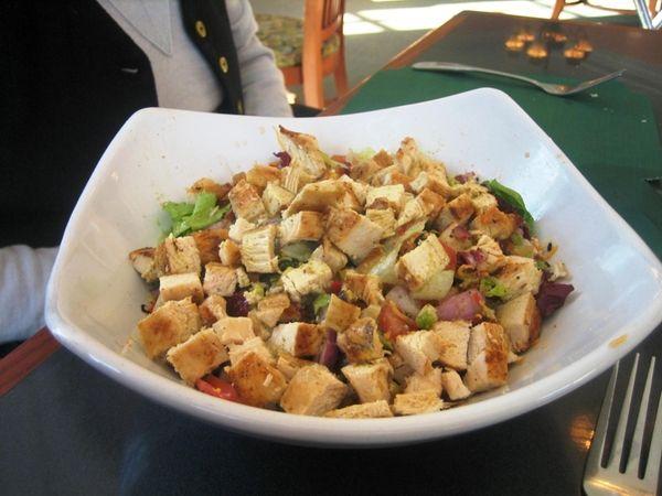 Santa Fe chicken salad at Colonial Springs Country