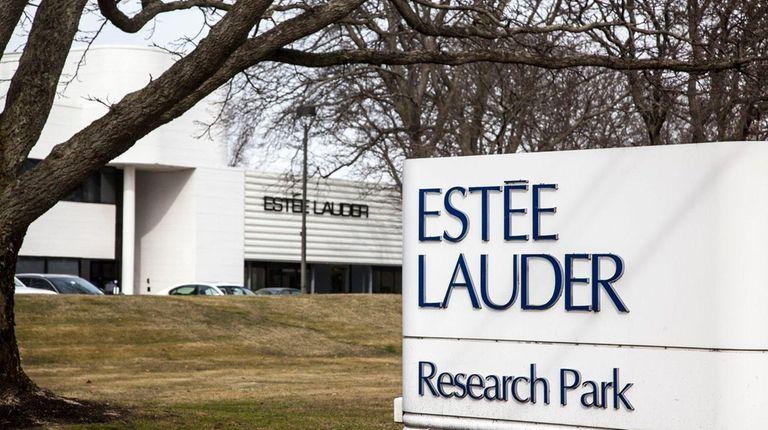 Estée Lauder campus in Melville on Thursday, March