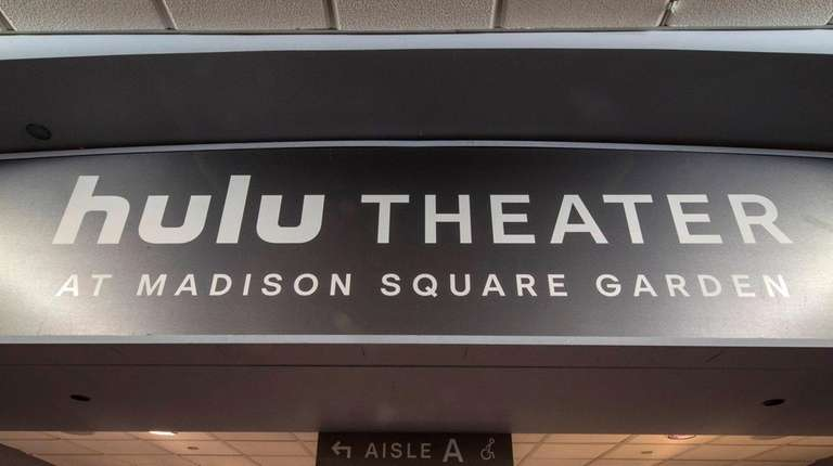 Hulu gets naming rights for The Theater at Madison Square Garden