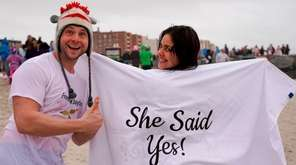 Newly engaged John Conenello, 34, of Mastic Beach,