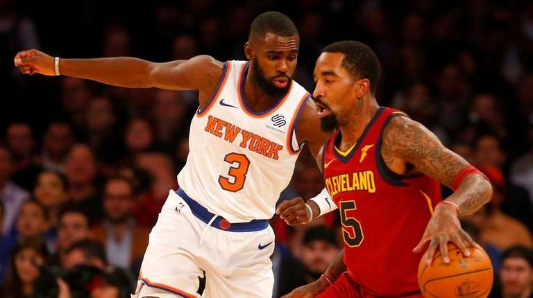 JR Smith was suspended for throwing soup at Cavaliers assistant Damon Jones