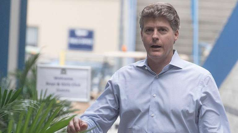 Yankees managing general partner Hal Steinbrenner during spring